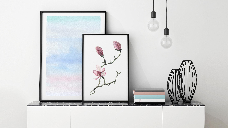 Pastelowe Magnolie