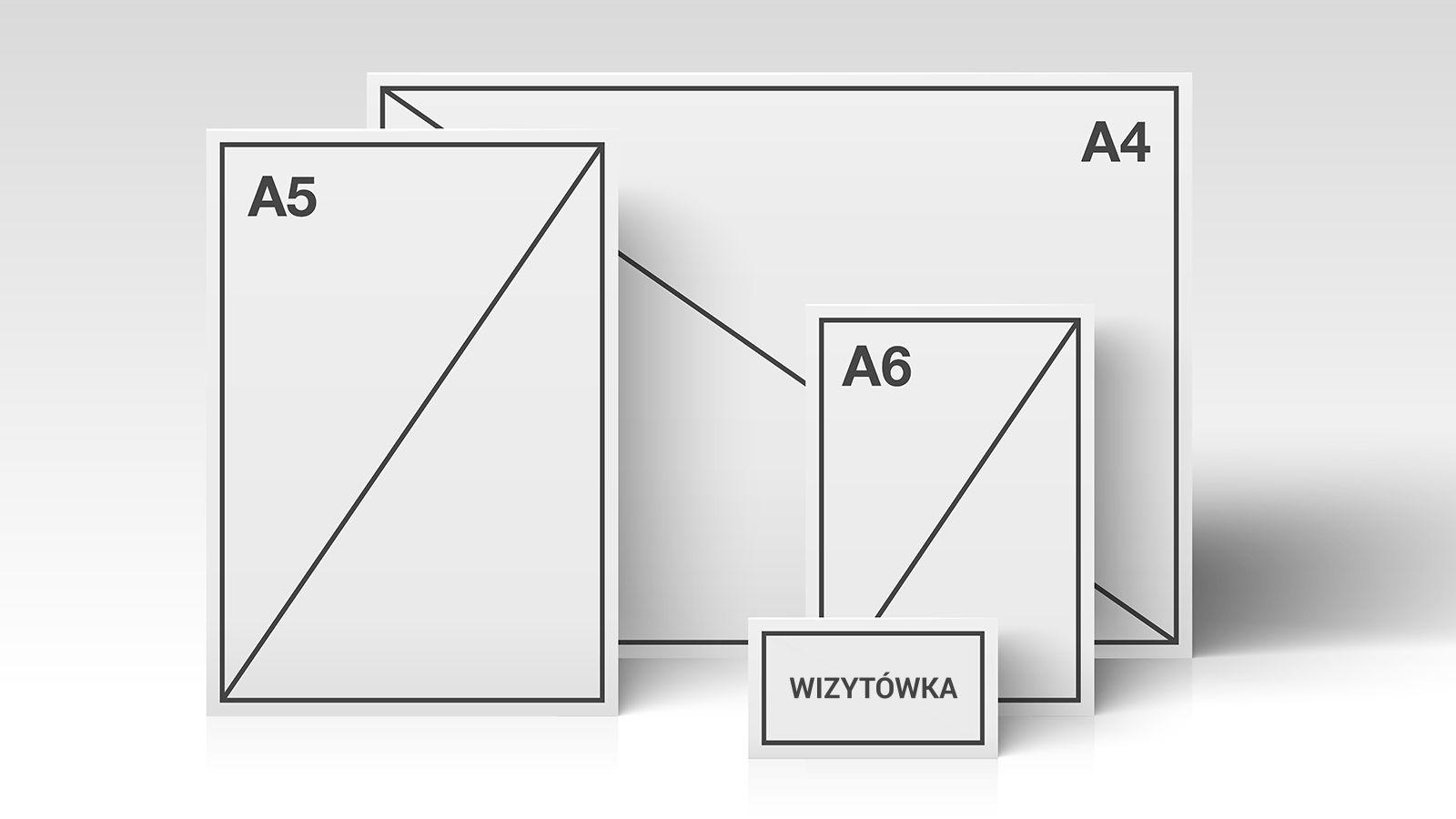 Wymiary I Formaty Papieru