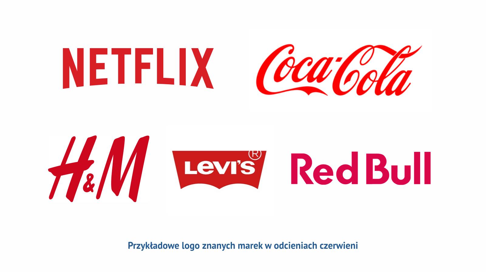 Czerwony Przyklady Logo