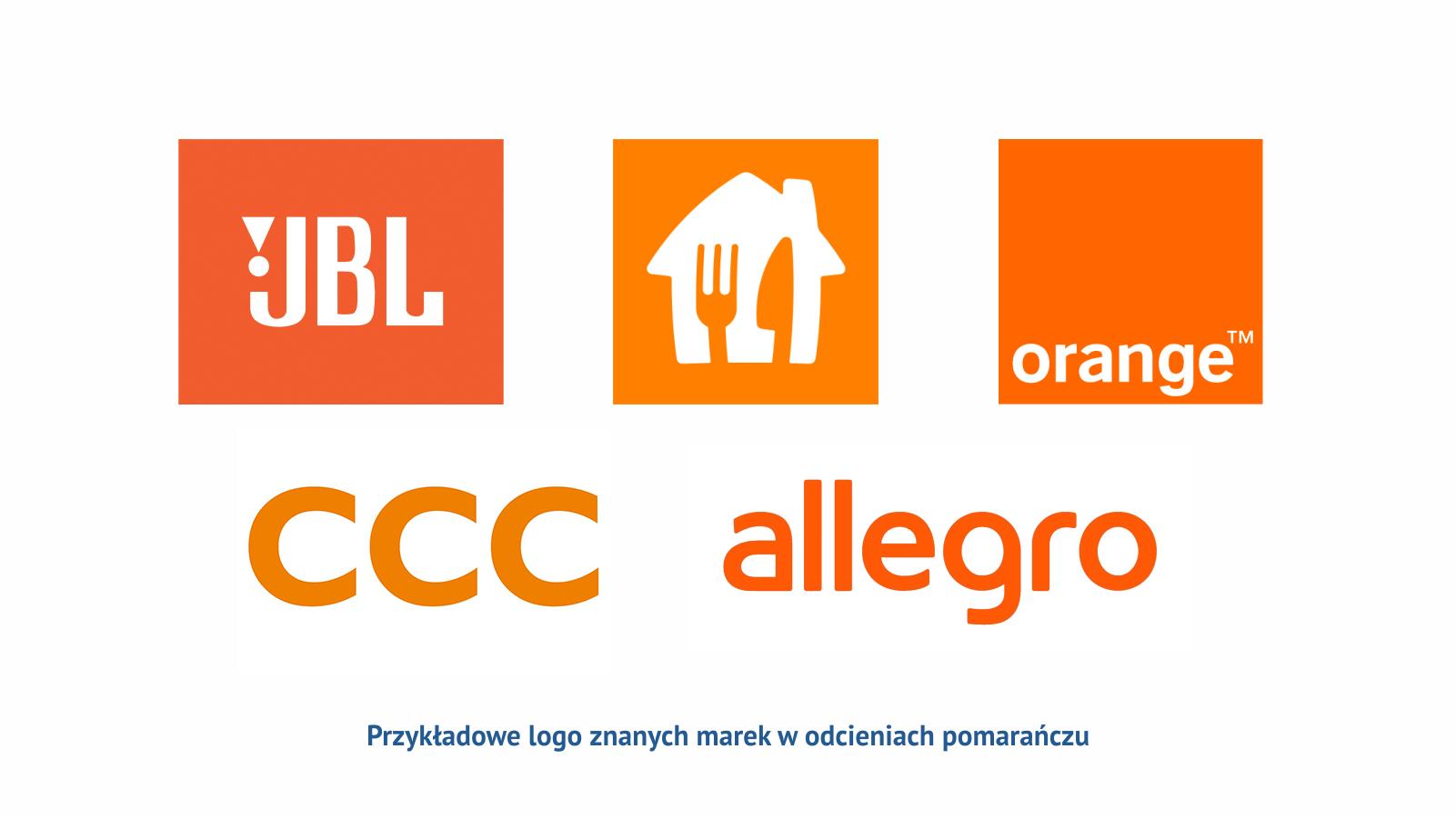 Pomaranczowy Przyklady Logo